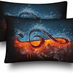 Music Note Musical Note Pillow Cases
